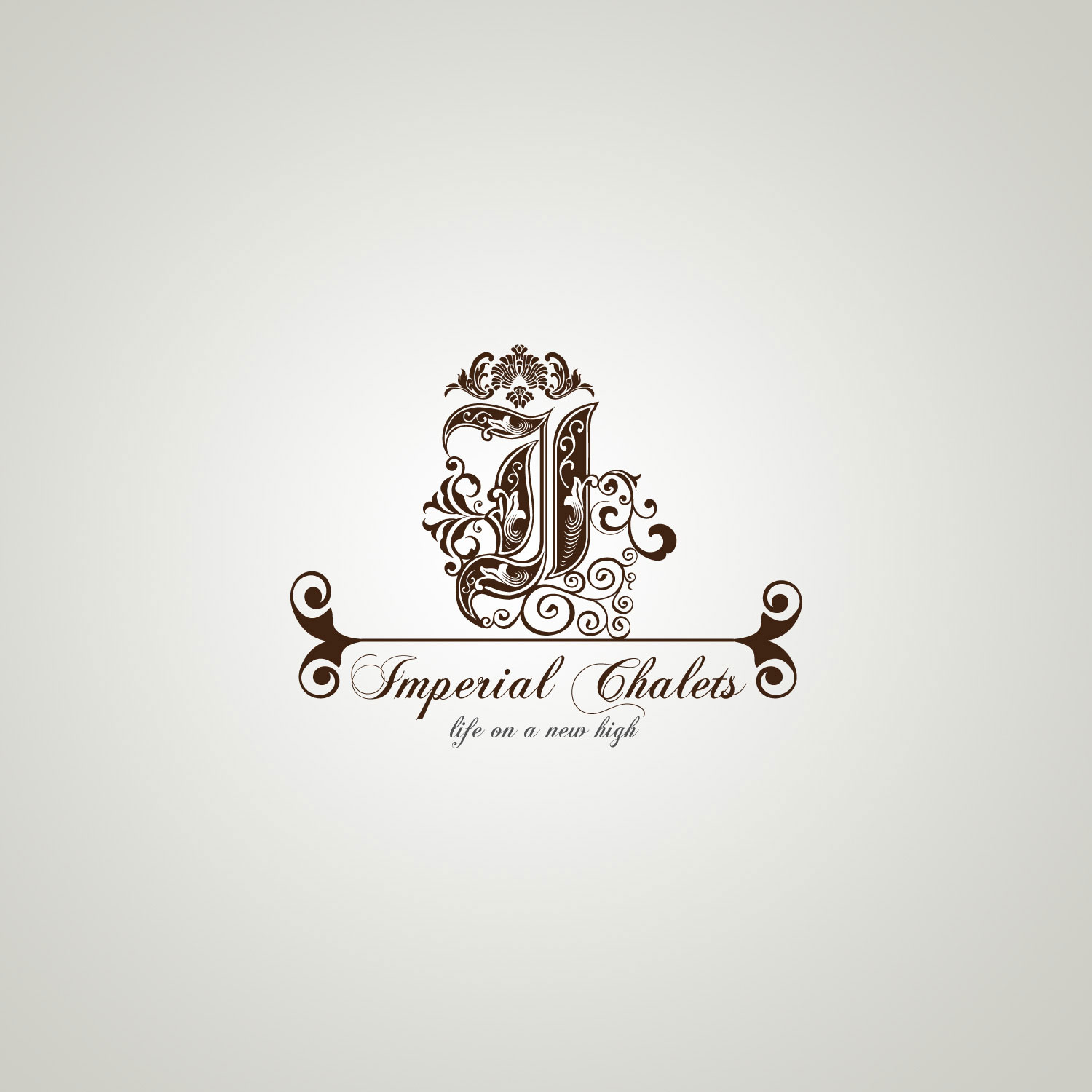 Imperial Chalets Branding Amp Signage Advertising Logo